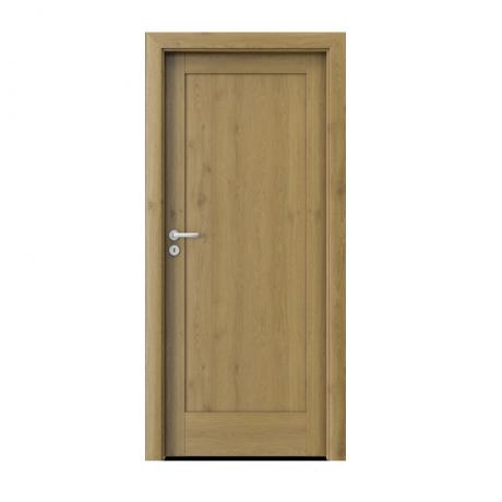 PORTA – drzwi wewnętrzne ramiakowe- KOLEKCJA VERTE HOME E-F – DĄB NATURALNY – E0