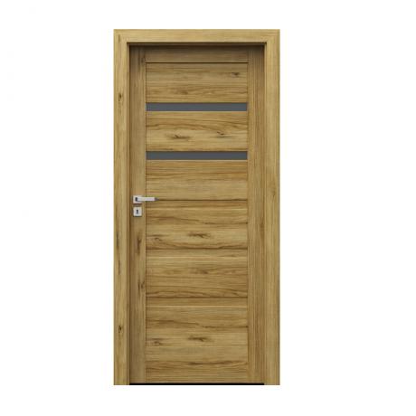 PORTA – drzwi wewnętrzne ramiakowe- KOLEKCJA VERTE HOME H – DĄB CATANIA – H2