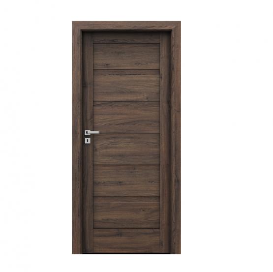 PORTA – drzwi wewnętrzne ramiakowe- KOLEKCJA VERTE HOME H – DĄB SZKARŁATNY – H0