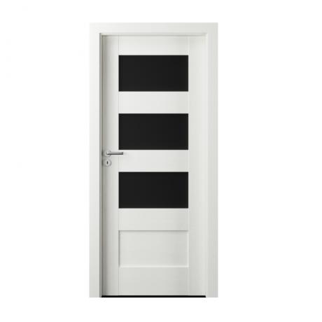 PORTA – drzwi wewnętrzne ramiakowe- KOLEKCJA VERTE PREMIUM A – WENGE WHITE – A3