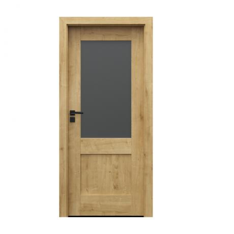 PORTA – drzwi wewnętrzne ramiakowe- KOLEKCJA VERTE PREMIUM C – DĄB ANGIELSKI HAMILTON – C1