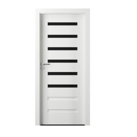 PORTA – drzwi wewnętrzne ramiakowe- KOLEKCJA VERTE PREMIUM D – BIAŁY PREMIUM – D6