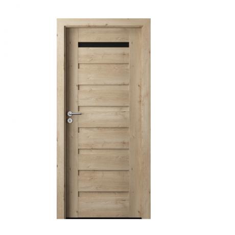 PORTA – drzwi wewnętrzne ramiakowe- KOLEKCJA VERTE PREMIUM D – DĄB KLASYCZNY – D1