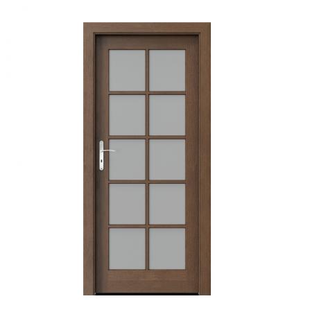PORTA – drzwi wewnętrzne ramiakowe- KOLEKCJA CORDOBA – DUŻY SZPROS DĄB BRUNATNY