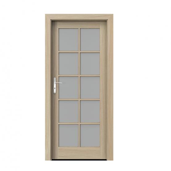 PORTA – drzwi wewnętrzne ramiakowe- KOLEKCJA CORDOBA – DUŻY SZPROS DĄB JASNY
