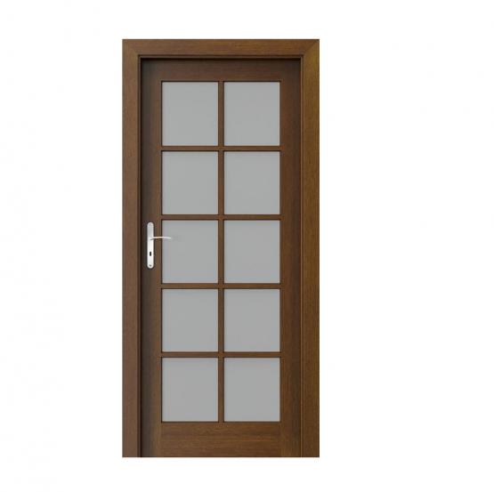 PORTA – drzwi wewnętrzne ramiakowe- KOLEKCJA CORDOBA – DUŻY SZPROS TABACCO