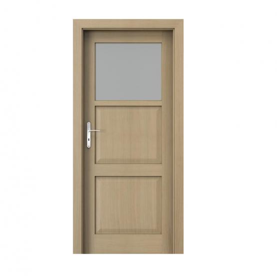 PORTA – drzwi wewnętrzne ramiakowe- KOLEKCJA CORDOBA – MAŁE OKIENKO DĄB 1