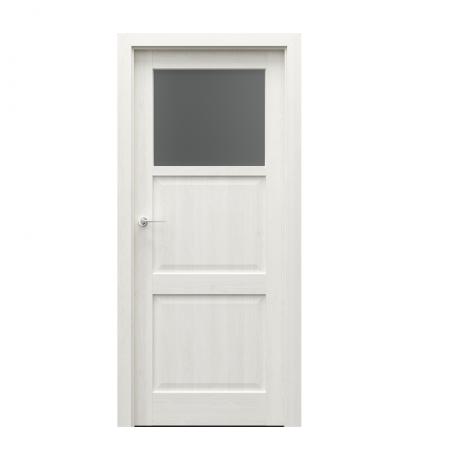 PORTA – drzwi wewnętrzne ramiakowe- KOLEKCJA CORDOBA – MAŁE OKIENKO DĄB BIAŁY