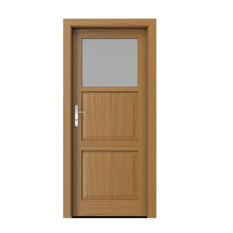PORTA – drzwi wewnętrzne ramiakowe- KOLEKCJA CORDOBA – MAŁE OKIENKO DĄB WINCHESTER