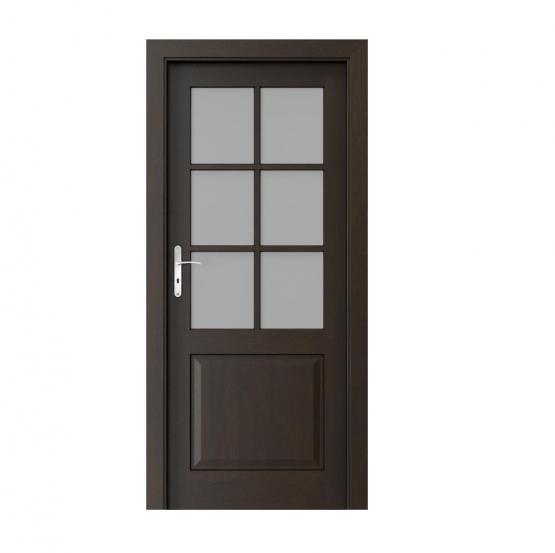 PORTA – drzwi wewnętrzne ramiakowe- KOLEKCJA CORDOBA – SZPROS NERO