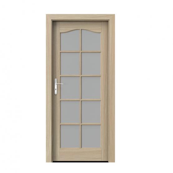 PORTA – drzwi wewnętrzne ramiakowe- KOLEKCJA MADRYT – DUŻY SZPROS DĄB JASNY