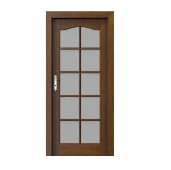 PORTA – drzwi wewnętrzne ramiakowe- KOLEKCJA MADRYT – DUŻY SZPROS TABACCO
