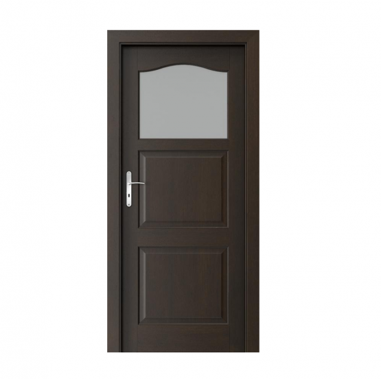 PORTA – drzwi wewnętrzne ramiakowe- KOLEKCJA MADRYT – MAŁE OKIENKO NERO