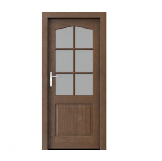 PORTA – drzwi wewnętrzne ramiakowe- KOLEKCJA MADRYT – SZPROS DĄB BRUNATNY
