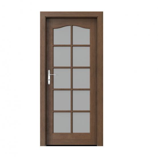 PORTA – drzwi wewnętrzne ramiakowe- KOLEKCJA MADRYT – DUŻY SZPROS DĄB BRUNATNY