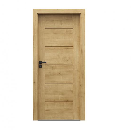 PORTA – drzwi wewnętrzne ramiakowe- KOLEKCJA VERTE PREMIUM E – DĄB ANGIELSKI HAMILTON – E0