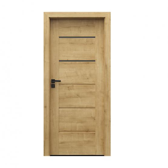 PORTA – drzwi wewnętrzne ramiakowe- KOLEKCJA VERTE PREMIUM E – DĄB ANGIELSKI HAMILTON – E2