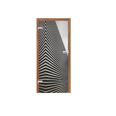 ERKADO – drzwi wewnętrzne szklane- GRAF 1