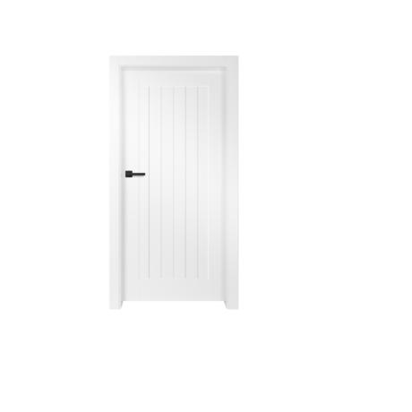 ERKADO – drzwi wewnętrzne płytowe lakierowane- Turan-6