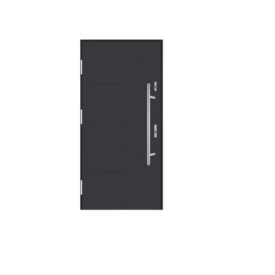 DRZWI STALOWE MARTOM – No Glass – A-00