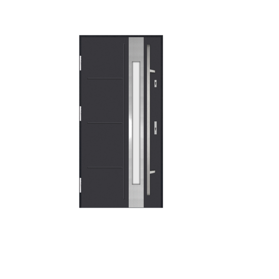 DRZWI STALOWE MARTOM – Modern – AI-01-3