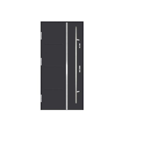 DRZWI STALOWE MARTOM – No Glass – AI-04