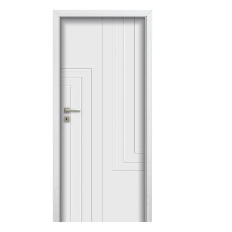 POL-SKONE – drzwi wewnętrzne pełne- ANMI W00 RAL 9003
