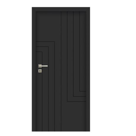 POL-SKONE – drzwi wewnętrzne pełne- ANMI W00 RAL 9005