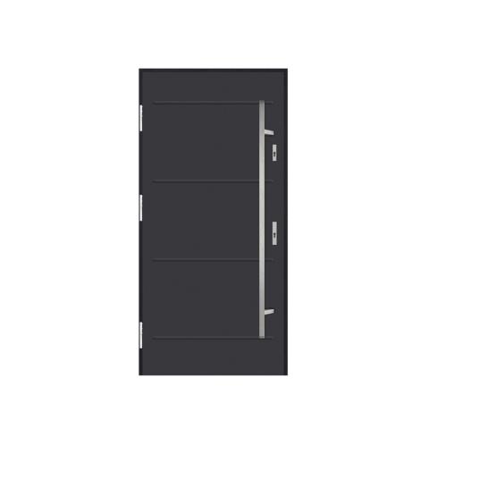 DRZWI STALOWE MARTOM – No Glass – C-00