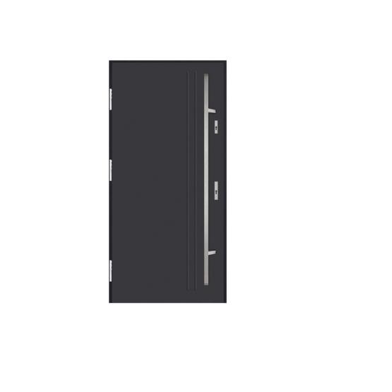 DRZWI STALOWE MARTOM – No Glass – D-00