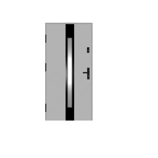 DRZWI STALOWE MARTOM – Modern – GB-02-3
