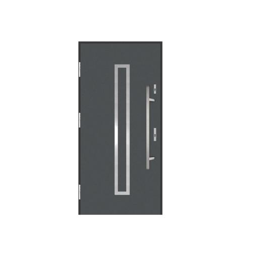 DRZWI STALOWE MARTOM – No Glass – GI-06