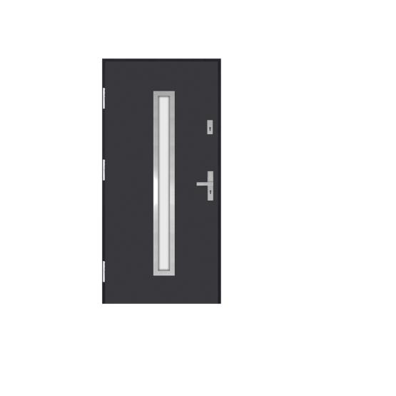 DRZWI STALOWE MARTOM – Modern – GI-06-3
