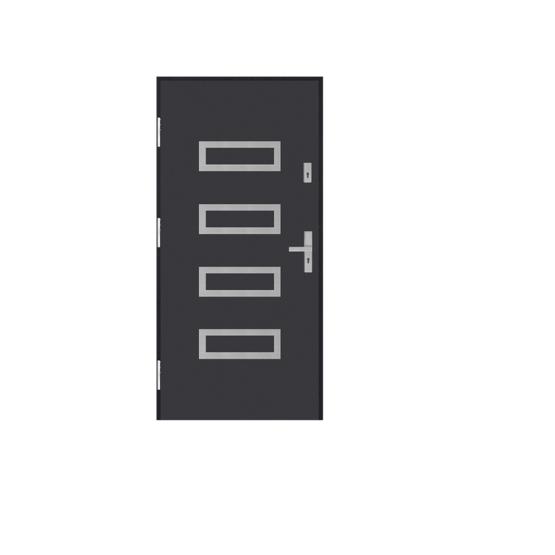 DRZWI STALOWE MARTOM – No Glass – GI-33