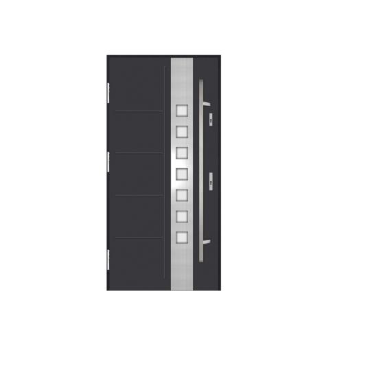 DRZWI STALOWE MARTOM – Modern – HI-27-1