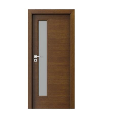 PORTA – drzwi wewnętrzne płytowe- KOLEKCJA NATURA CLASSIC- 7.4 – TABACCO