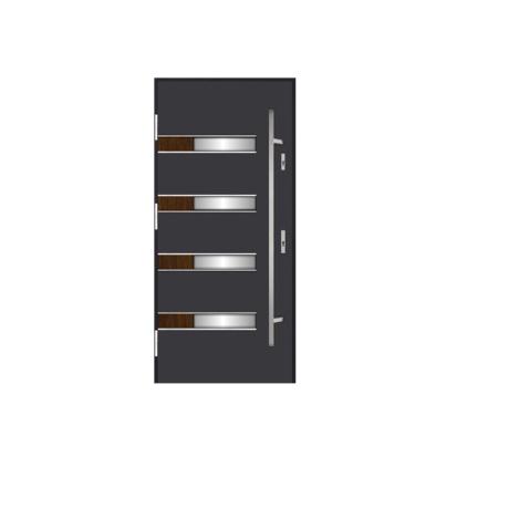 DRZWI STALOWE MARTOM – Simple Elegance – P-GIL-660-51