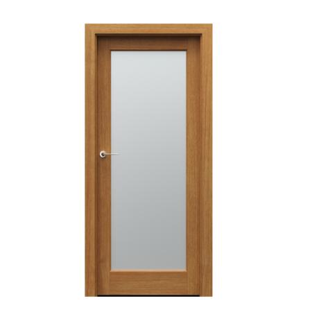 PORTA – drzwi wewnętrzne ramiakowe- KOLEKCJA SEVILLA- Z SZYBĄ – DĄB WINCHESTER