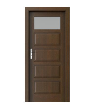 PORTA – drzwi wewnętrzne ramiakowe- KOLEKCJA TOLEDO – 1 – MOCCA