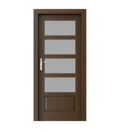 PORTA – drzwi wewnętrzne ramiakowe- KOLEKCJA TOLEDO – 4 – MOCCA